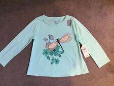 Gap Floral 100% Cotton T-Shirts & Tops (0-24 Months) for Girls