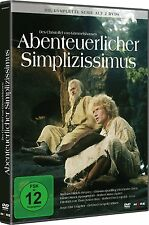 2 DVDs * ABENTEUERLICHER SIMPLIZISSIMUS - DIE KOMPLETTE  SERIE # NEU OVP !