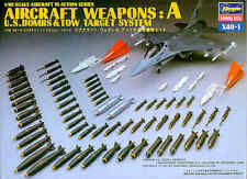 Hasegawa 1/48 Aircraft Weapons A: U.S. Bombs & Tow Target System # X4801