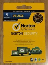 Norton Security Deluxe - 1 User, 5 Devices and Utilities 12 Month License Code!