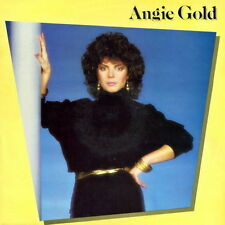 """12"""" Angie Gold Same (Lucky In Love, No Alibi, Red Light) 80`s CBS KRL"""