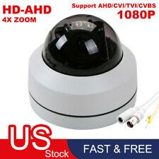 2.0MP 4 In 1 Mini 4X Zoom 1080P PTZ Analog Security Camera Night Vision HD IR