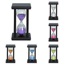5/15/30MIN De Madera Reloj Reloj De Arena Arena Temporizador Reloj Oficina Hogar Decoración faddish