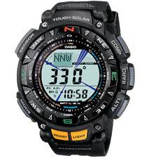 Brand NewCasio Men's Pathfinder Solar Powered Triple Sensor Sport Watch PAG240-1