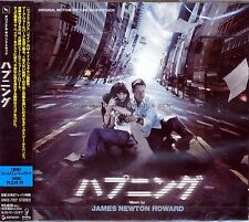 "James Newton Howard ""THE HAPPENING"" score Japan CD SEALED"