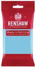 Renshaw Ready To Roll Zuckerguss Fondant Kuchendekoration 250g Baby blau