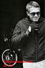 "Steve McQueen~Triumph~Photo~Motorcycle~Poster~20"" x  30"""