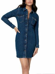 Women`s ASOS JDY Mini Denim Dress with Stretch Size 6 8 10 12 14 - RRP £35