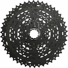 M993 9-Speed Cassette - SunRace M993 Cassette - 9 Speed, 11-46t, ED Black, Alloy