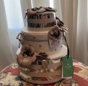 NWT Kate Spade Wedding Belles Flower Cake Bag