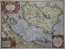 Ischia quae olim Aenaria - Ortelius 1603 - Rare original map - Ischia bei Neapel