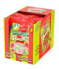 Full Box of 12 Share Bags Drumstick Squashies Sour Cherry & Apple Flavour £11.99
