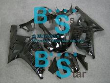 Black Glossy GSX-R600 Fairing Fit SUZUKI GSXR600 GSXR750 2002 2001-2003 51 A6