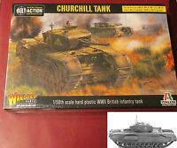 Bolt Action 402011002 WWII British Churchill Infantry Tank (Plastic Kit) Warlord