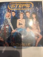 "STEPS ""NEON BLUE"" NEW UK CD PROMO - MINT CONDITION"