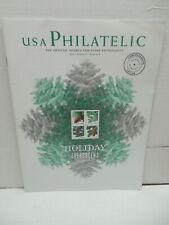 USA Philatelic Magazine Postage Stamp Enthusiasts Winter 2010 Holiday Evergreens