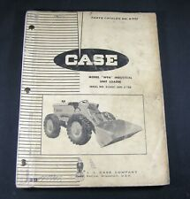 CASE W9A Industrial Unit Wheel Loader Parts Manual Catalog S/N 8160001 After