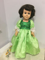 """Fits 19"""" 20"""" Chatty Cathy Doll Clothes Holiday Christmas Party Prom Dress Only"""