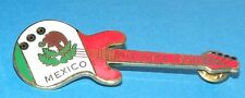 Atlanta 1996 Olympic Games Country Flag Guitar Pin - Mexico Mint new Collectible