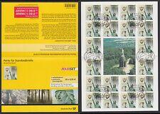 Bund MH 79 gestempelt Varusschlacht 2009 20 x 2741 selbstklebend  ESST