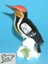 pequeño pájaro carpintero PINTURA BAJO CRISTAL - ENS #a5-41020