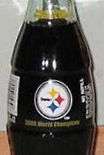 2005 Pittsburgh Steelers World Champions Coca-Cola Coke Bottle