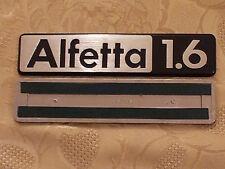 sigla ALFETTA 1.6 alfa romeo scritta posteriore fregio originale rear sign badge