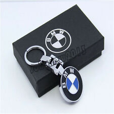 Pendant BMW Keychain Key Chain Ring Chrome For BMW X5 X3 X6 M Series E90 E92 E93