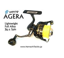 HAMACHI JAPAN - AGERA 2000SWX Spin Jigging fishing Reel 4 8 10 15 lb braid
