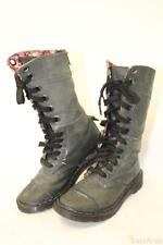 *Water Damaged* Dr Martens Docs Triumph Womens 7 Nubuck Leather Laced Boots kf