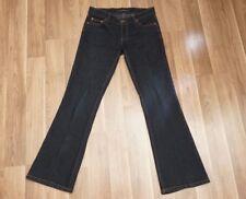 DKNY Denim Jeans  Girls Ladies Juniors Size 3 Flare Dark Blue Designer Cotton