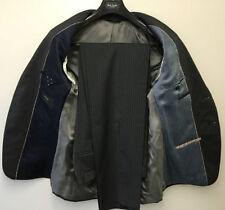 Completi e abiti sartoriali da uomo grigio gessato lana