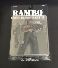 Hardened Rambo First Blood Part II Action Figure N2 Toys Stallone 2001