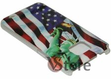Cover Bandiera America New York Per Samsung Galaxy S Plus i9001 rigida