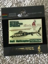 Vintage Official Helicopter Sponsor Pin 1996 Atlanta Summer Games Bell Textron