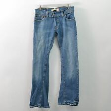 Levis 504 Slouch Blue Jeans Stretch Womens Juniors 9