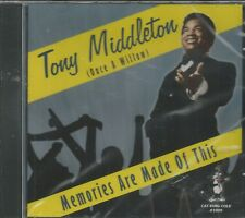 TONY MIDDLETON - CD - Memories Are Made Of This - BRAND NEW