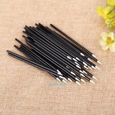 50pcs Disposable Lip Brush Gloss Eyeliner Wands Applicator Makeup Cosmetic Tool