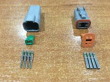 Deutsch DT 4-Way 4 Pin Electrical Connector Plug Kit