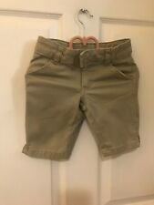 Girl's French toast brand khaki uniform shorts size 6 Preowned