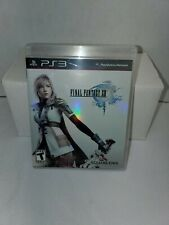 Final Fantasy XIII 13 Complete Playstation 3 PS3 Very Good Game