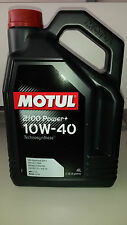 N. 4 LT OLIO MOTORE  MOTUL 2100 POWER+ 10W40 SPECIFICHE API SL/CF-Technosynthese