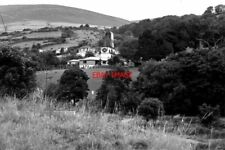 PHOTO  1979 ISLE OF MAN VIEW TO 'LADY ISABELLA' WATER WHEEL AND THE VALLEY TAKEN
