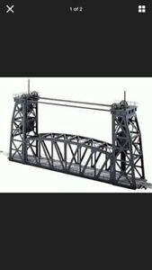 Lionel Trains 6-14167 Lift Bridge #213 C10  Postwar ARCHIVE in Shipping Carton O