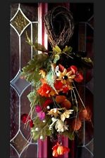 Sunflower Wreath Floral Swag Arrangement Pick Spring Summer Fall Autumn Harvest