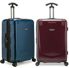 "Palencia III 26"" Anti-Theft Metallic Finish Expandable 8-Spinner Wheels Luggage"
