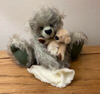 RARE OOAK Award Winning Artist Bear, 1/1. 'SEAN' by Balfour Bears