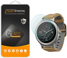 3X Supershieldz LG Watch Style Tempered Glass Screen Protector Saver