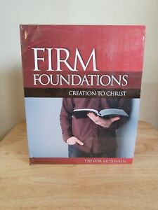 NEW* Firm Foundations: Creation to Christ Revised Set by Trevor McIlwain