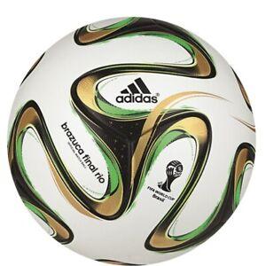 adidas Brazuca Rio Offizieller Final-Ball Endspiel WM 2014 weiß/schwarz [G84000]
